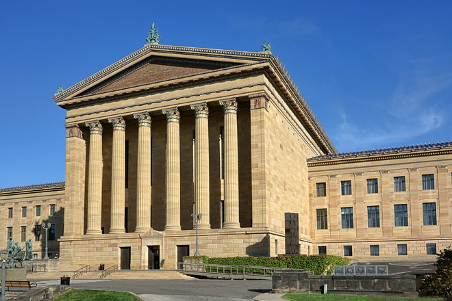 art museum in Philadelphia, Pennsylvania