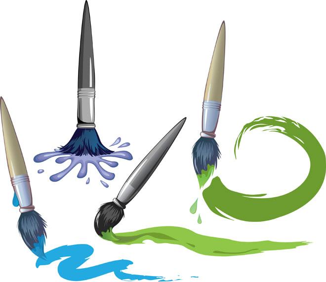 watercolor practice strokes